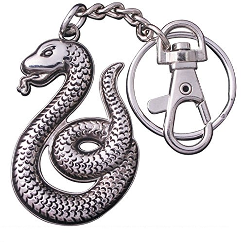 Harry Potter - Metall Schlüsselanhänger - Slytherin - Logo (Kind Deluxe Harry Potter Kostüme)