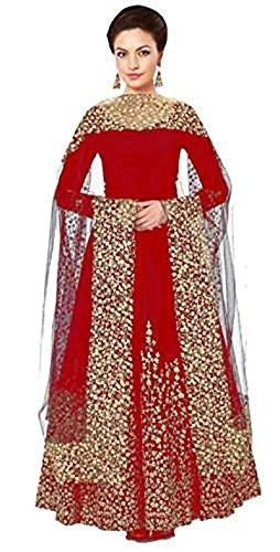 Riyan Enterprise Maroon Color Latest Designer Party Wear, Traditional Anarkali Style Salwar...