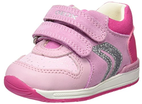 Geox B Rishon B, Zapatillas para Bebés, Rosa (Pink/Fuchsia), 21 EU