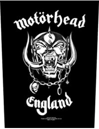Motörhead England Parche espalda