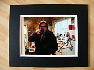 Sportagraphs RICKY TOMLINSON HAND SIGNED AUTOGRAPH 10X8 PHOTO MOUNT JIM ROYLE FAMILY & COA