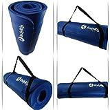 BodyRip NBR Exercise Mat - Blue, 183 cm