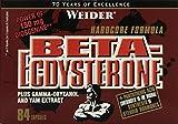 Muskelaufbaumittel - Weider Beta-Ecdysteron, 84 Kapseln, 1er Pack (1 x 97g)