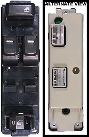 APDTY 012213 Master Power Window Switch Front Left Fits 2004-2012 Chevy Colorado 2-Door / 2004-2012 GMC Canyon 2-Door / 2007-2008 Isuzu I-290 2-Door / 2007-2008 Isuzu I-370 2-Door / 2006 Isuzu I-280 2-Door (Replaces 25779766, 8-25779-766-0, 8-25779-767-0) by APDTY