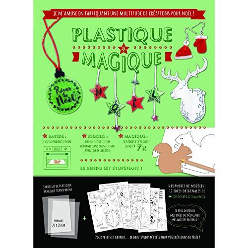 MegaCrea DIY Kit Plastique Magique translucide Noel Vintage 3 pièces par  MegaCrea DIY
