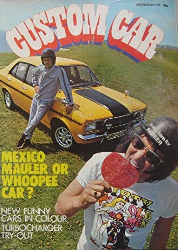 Custom Car magazine 09/1972 featuring Hillman Avenger Tiger