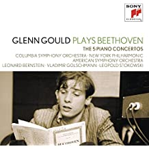 Glenn Gould Collection Vol.10 - Glenn Gould plays Beethoven: Die 5 Klavierkonzerte