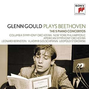 Glenn Gould Collection Vol.10 - Glenn Gould plays Beethoven: Die 5 Klavierkonzerte