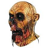 Máscara de zombie sangriento Halloween