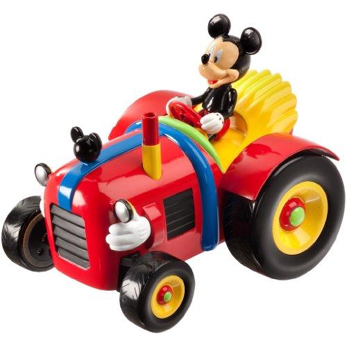 Mondo Motors - 63169 - Radio Commandé Véhicule Miniature - Tracteur Radio Commandé - Mickey Mouse