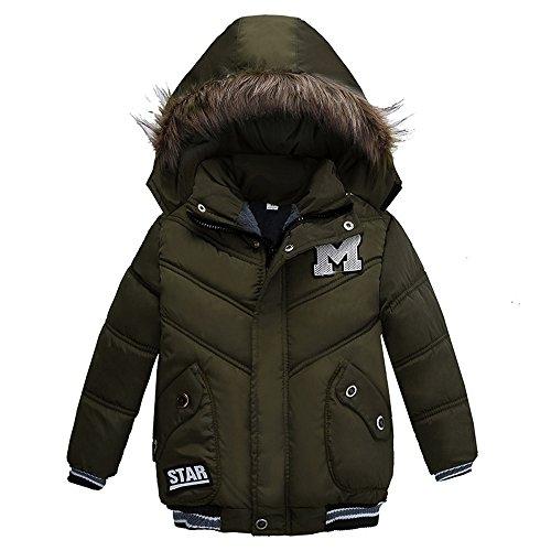 Babykleidung,Sannysis Kinder Mantel Jungen Mädchen Dick Jacke Gepolsterte Winterjacke Kleidung 2-5Jahre (110, - Halloween-ideen 5 Mädchen