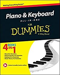 Piano and Keyboard All-in-One For Dummies by Holly Day (2014-04-28)