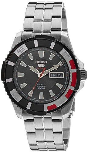 Seiko Herren-Armbanduhr XL Analog Automatik Edelstahl SRP207