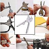 TianranRT 6 in1 Utili-Key Schlüsselanhänger Schlüsselring Multi Werkzeug Edelstahl EDC Schraubendreher Öffner