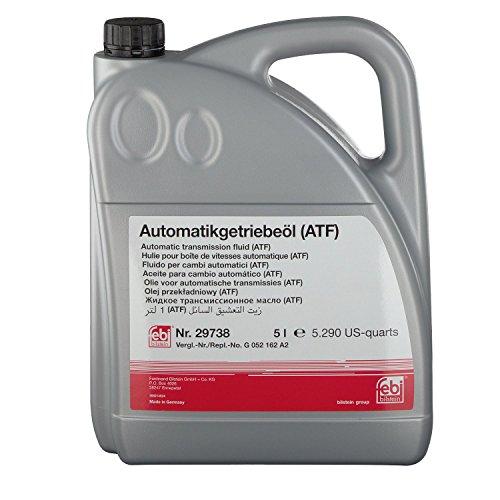 febi bilstein 29738 Automatikgetriebeöl ATF (gelb) 5 Liter