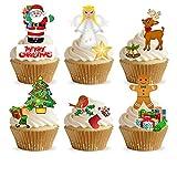36Stand Up Kinder Clipart Weihnachtsdeko Premium Essbar Wafer Papier Kuchen Topper Dekorationen