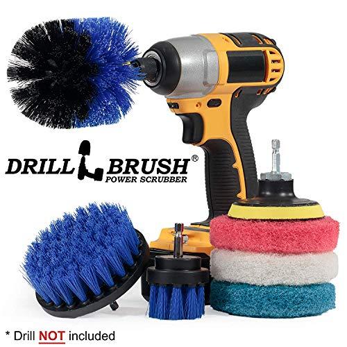 Fuentes limpieza  Drillbrush  Kit cepillo accesorio
