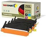 4er Set TONER EXPERTE® Premium Toner kompatibel für Samsung CLP-320, CLP-320N, CLP-320W, CLP-325, CLP-325N, CLP-325W, CLX-3180, CLX-3180FN, CLX-3180FW, CLX-3185, CLX-3185F, CLX-3185FN, CLX-3185FW, CLX-3185N, CLX-3185W, CLT-K4072S, CLT-C4072S, CLT-M4072S, CLT-Y4072S