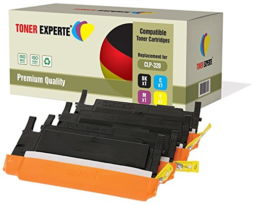 Kit 4 TONER EXPERTE Toner compatibili per Samsung CLP-320 CLP-320N CLP-325 CLP-325N CLP-325W CLX-3180 CLX-3180FN CLX-3185 CLX-3185FN CLX-3185FW CLX-3185W CLT-K4072S CLT-C4072S CLT-M4072S CLT-Y4072S