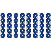 Sharplace 40 Piezas de Cara Objetivo de Papel de Destino Blanco de Dardos Accesorio para Deportista