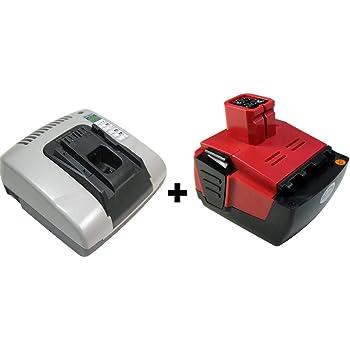 Sid 144-A,B 144//2.6 Powersmart 3000mAh Batterie pour Hilti Sf 144-A
