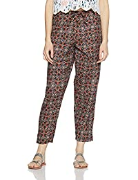 Amazon Brand- Myx Women's Cotton Pants
