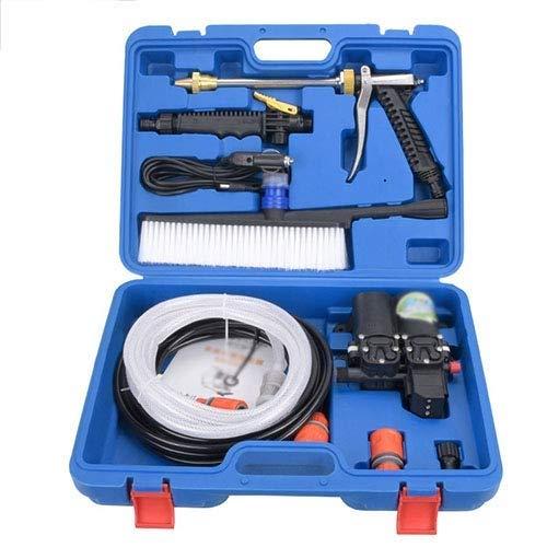 QTDH Auto-Reinigungspistole - 12V Elektrischer Hochdruckreiniger-Hochdruckreiniger - Ideal Für Autos, Haustiere, Duschen, Fensterreinigung, Bewässerung
