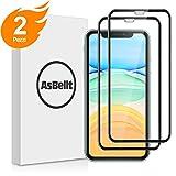 Perché acquistate questa pellicola vetro di AsBellt per Apple iPhone 11/XR? Realizzato con vetro che è stato sottoposto ad un trattamento specializzato in 3D vetro temperato,buona qualità della protezione dello schermo per proteggere lo schermo del v...