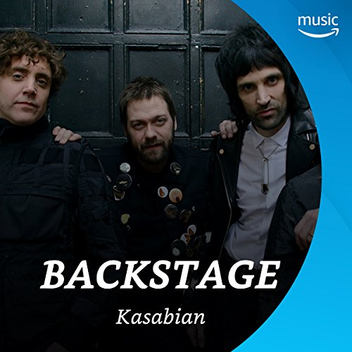 Backstage mit Kasabian