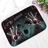 LJIE Halloween Party Fußmatte Willkommen Teppiche Schlafzimmer Wohnzimmer Küche Eingang Teppiche,3,60 * 90Cm