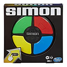 Simon Game; Electronic Memory Game for Children Aged 8 and Up; Handheld Game With Lights and Sounds; Classic Simon Gameplay