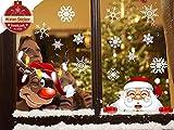 heekpek Navidad la Decoración del Hogar de Vinilo Ventana Pegatinas de Pared Decorativos...