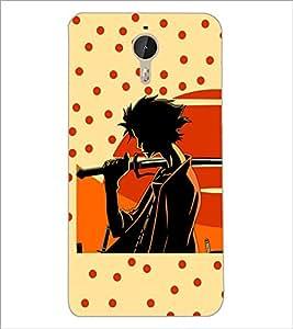 PrintDhaba Sword Girl D-5633 Back Case Cover for LETV LE 1 PRO ULTRA (Multi-Coloured)