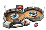 Get thrilling, new Disney Pixar Cars 3 competition action with this mini Thunder Hollow racetrack. The complete play set includes an iconic Crazy 8 track, derby accessories and authentic background design. Send the racers speeding down the ra...