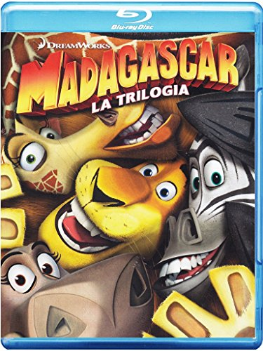 Madagascar - La trilogia [Blu-ray] [IT Import] (Madagascar 2 Blu Ray)