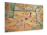 Paul Klee - Spielzeug (Toy) - 1931-60x40 cm - Leinwandbild auf Keilrahmen - Wand-Bild - Kunst, Gemälde, Foto, Bild auf Leinwand - Alte Meister/Museum