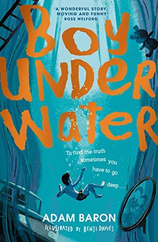 Boy Underwater por Baron Adam