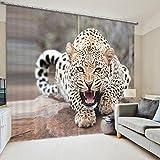 Wapel Wilde Tiere Tier Luxus Blackout 3D Fenster Vorhänge Für Betten Wohnzimmer Hotel Vorhänge 240X400CM