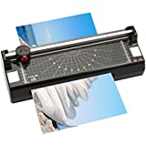 Olympia - Plastificadora 4 en 1 (para DIN A3, incluye guillotina con 3 tipos de corte, redondeador de esquinas y 100 láminas para plastificar)