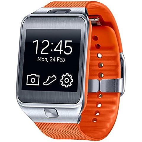 Samsung ET-SR380BOEGWW - Correa estándar para Samsung Galaxy Gear 2/Gear 2 Neo, naranja