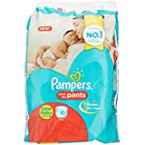 Pampers Pants Size Diapers for New Born (10 Count)