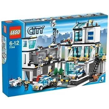 lego city 7744 police station - Lgo City Police