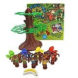 Luerme Jouets pour enfants Jeux de société pour enfants Développement amusant Brain Little Monkey Catapult...