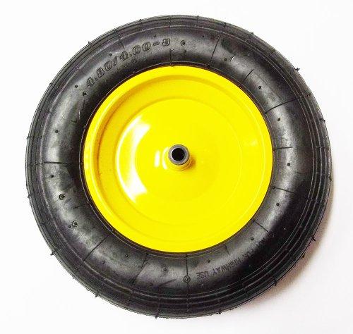 Ersatzrad gelb 4,0x8 Rad für Limex Schubkarre Gartenkarre Baukarre ***NEU***