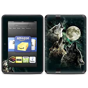 DecalGirl Skin - Three Wolf Moon  [will only fit Kindle Fire HD 7 (2nd Generation)]