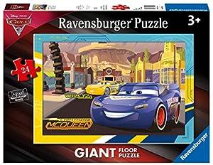 Ravensburger- Puzzle Suelo Giant 24 Piezas, Cars 3 (5519)