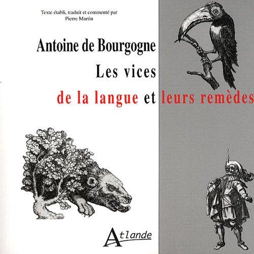Les vices de la langue et leurs remèdes