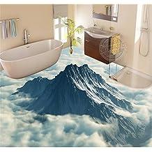 Chlwx 400cmX280cm (157.5inX110.279in) 3D Bodenbeläge Tapeten Fototapete  Peak Ein Meer