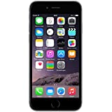 Apple iPhone 6 Smartphone (4,7 Zoll (11,9 cm) Touch-Display, 16 GB Speicher, iOS 8) grau