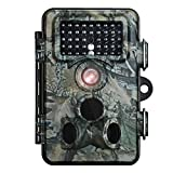 """Trail Camera, VicTsing 12MP 1080P HD IP66 Waterproof Infrared Game & Wildlife Spy Camera with 42 Pcs Black LEDs 120° Wide Angle Super Night Vision, 2.4"""" LCD Display Nature Surveillance Outdoor Hunting Camera Trap"""